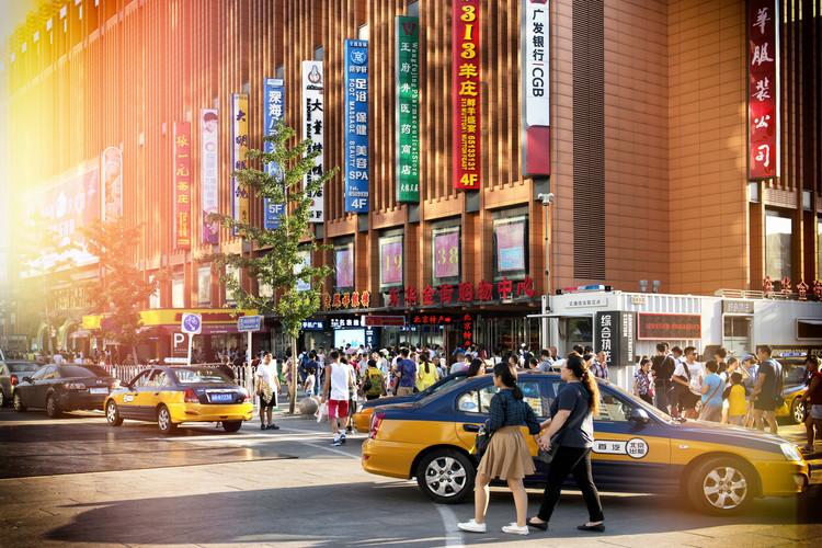 Eksklusiiviset taidevalokuvat China 10MKm2 Collection - Yellow Cabs