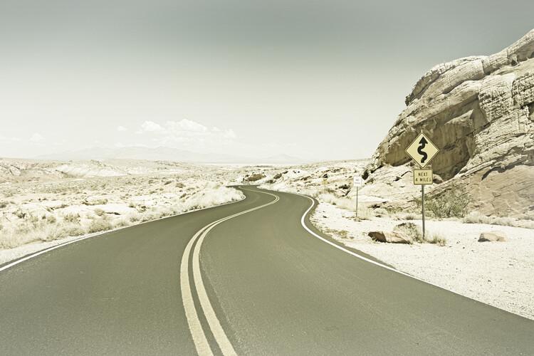Eksklusiiviset taidevalokuvat Country Road USA | Vintage