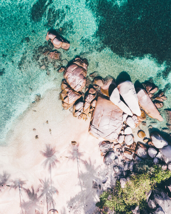 Eksklusiiviset taidevalokuvat Desert Island