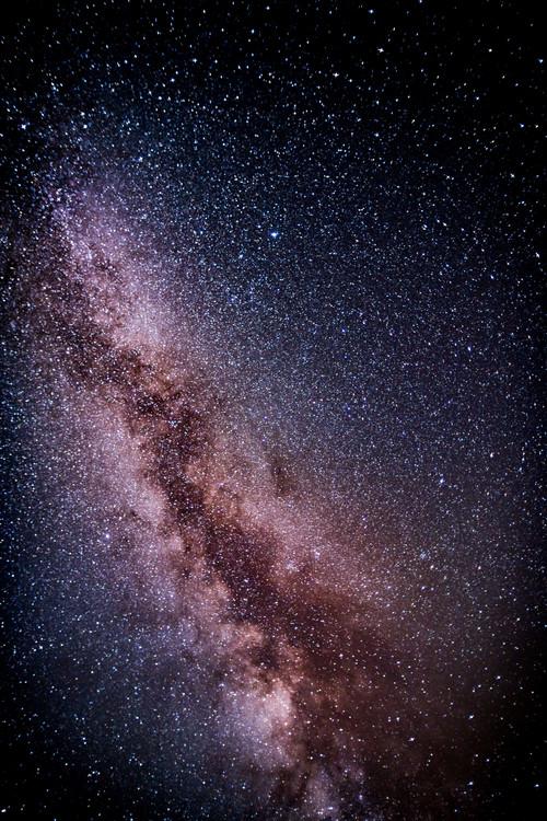 Eksklusiiviset taidevalokuvat Details of Milky Way of St-Maria with lilac-blue graded II