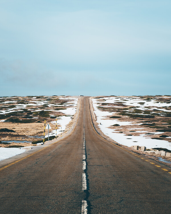 Eksklusiiviset taidevalokuvat Endless Road