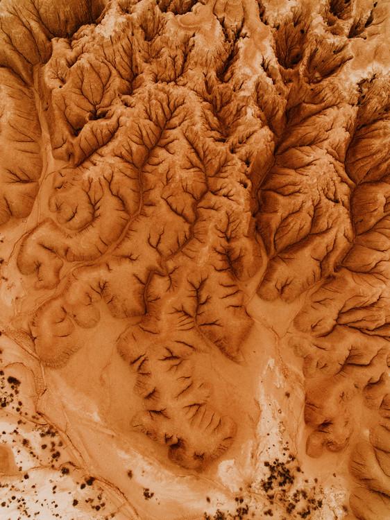 Eksklusiiviset taidevalokuvat Eroded desert in spain