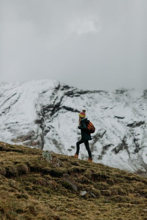 Eksklusiiviset taidevalokuvat Hiking in winter