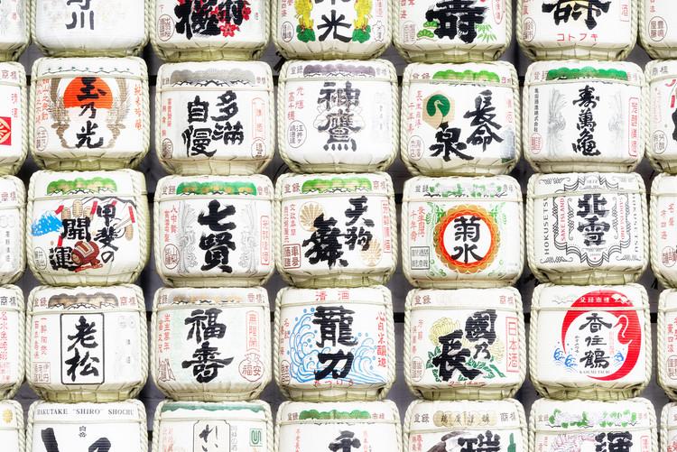 Eksklusiiviset taidevalokuvat Japanese Sake