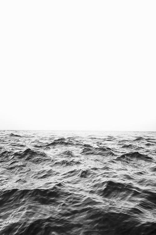 Eksklusiiviset taidevalokuvat Minimalist ocean