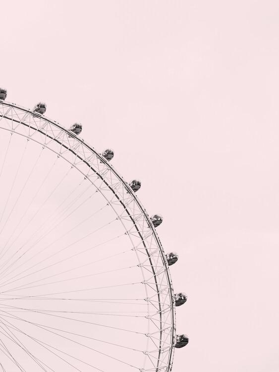 Eksklusiiviset taidevalokuvat Pink sky
