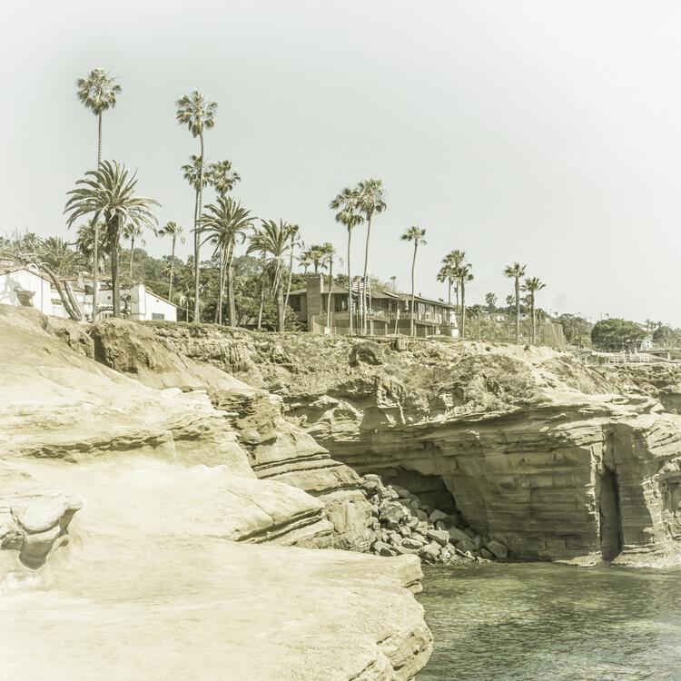 Eksklusiiviset taidevalokuvat SAN DIEGO Sunset Cliffs | Vintage