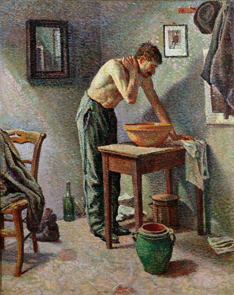 The Toilet, 1887 Taidejuliste