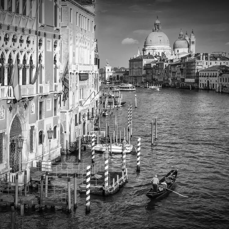 Eksklusiiviset taidevalokuvat VENICE Canal Grande & Santa Maria della Salute