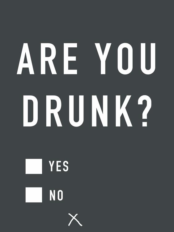 Eksklusiiviset taidevalokuvat Are you drunk