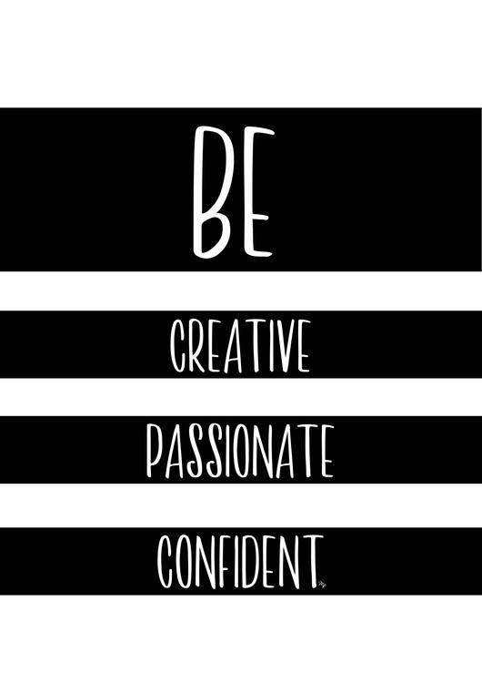 Eksklusiiviset taidevalokuvat Be Creative