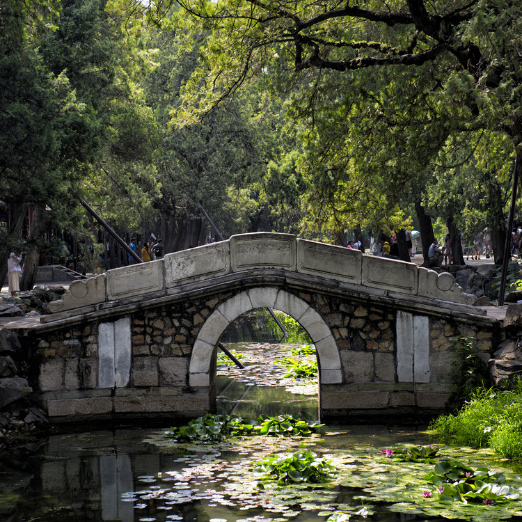 Eksklusiiviset taidevalokuvat China 10MKm2 Collection - Asian Bridge