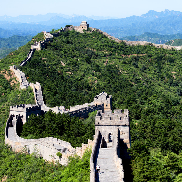 Eksklusiiviset taidevalokuvat China 10MKm2 Collection - Great Wall of China II