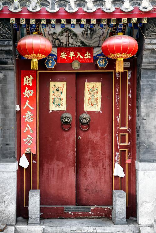 Eksklusiiviset taidevalokuvat China 10MKm2 Collection - Red Door
