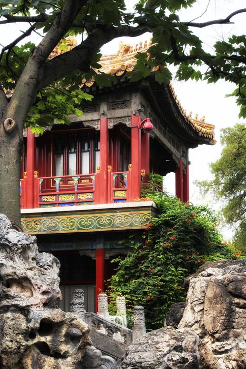 Eksklusiiviset taidevalokuvat China 10MKm2 Collection - Red Pavilion