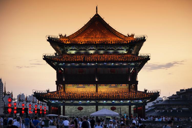 Eksklusiiviset taidevalokuvat China 10MKm2 Collection - Xi'an Temple
