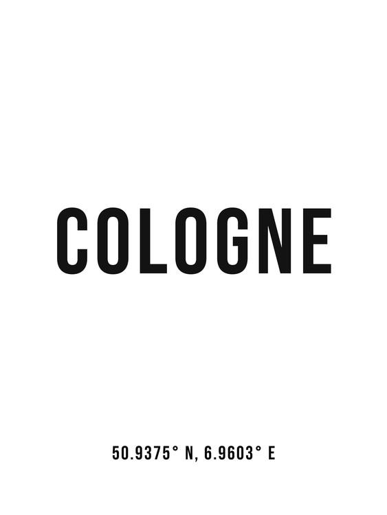 Eksklusiiviset taidevalokuvat Cologne simple coordinates