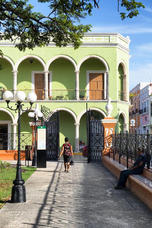 Eksklusiiviset taidevalokuvat End of the day in Campeche