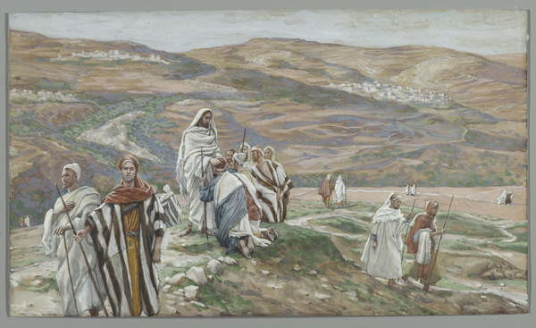 He Sent them out Two by Two, illustration from 'The Life of Our Lord Jesus Christ', 1886-96 Taidejuliste