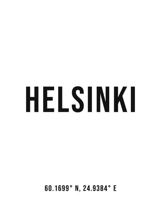 Eksklusiiviset taidevalokuvat Helsinki simple coordinates
