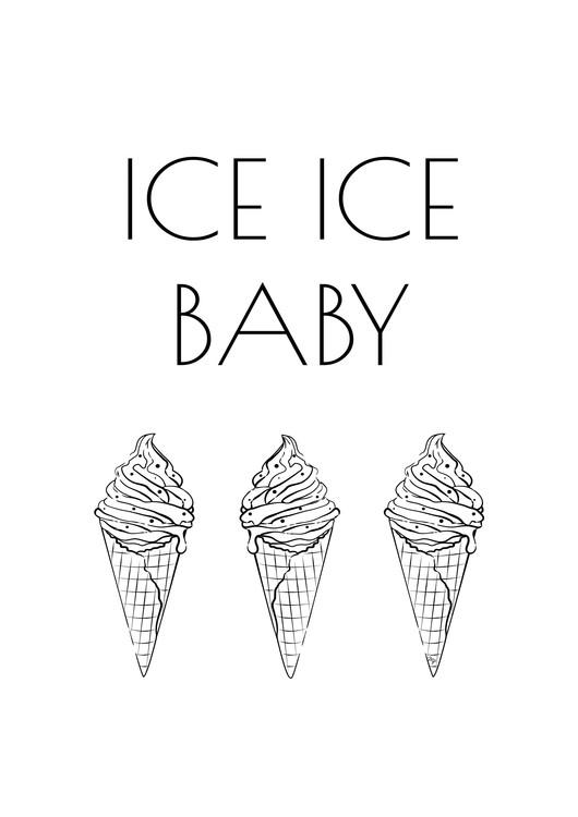 Eksklusiiviset taidevalokuvat Ice Baby