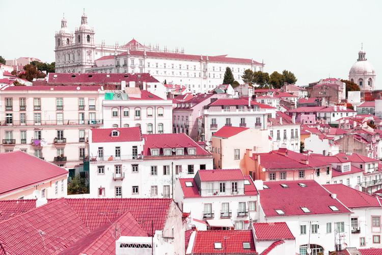 Eksklusiiviset taidevalokuvat Incredible Lisbon Pink