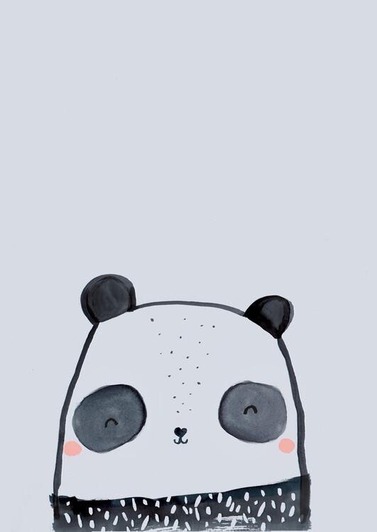 Eksklusiiviset taidevalokuvat Inky line panda