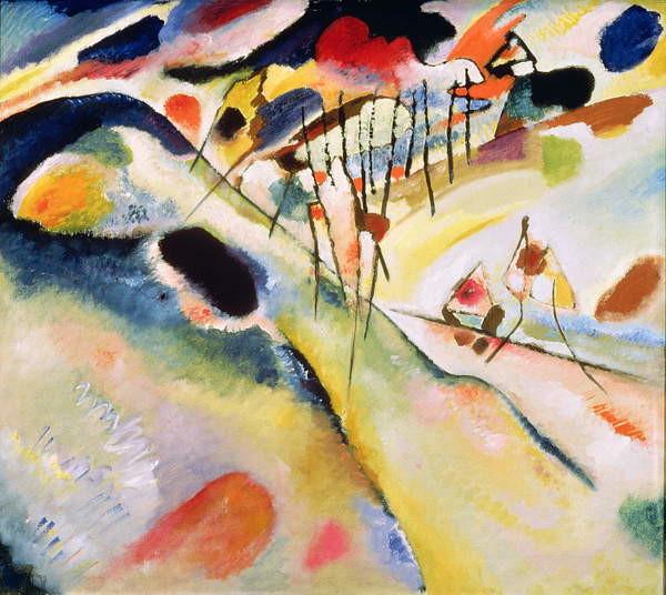 Landscape, 1913 Taidejuliste