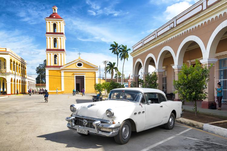 Eksklusiiviset taidevalokuvat Main square of Santa Clara