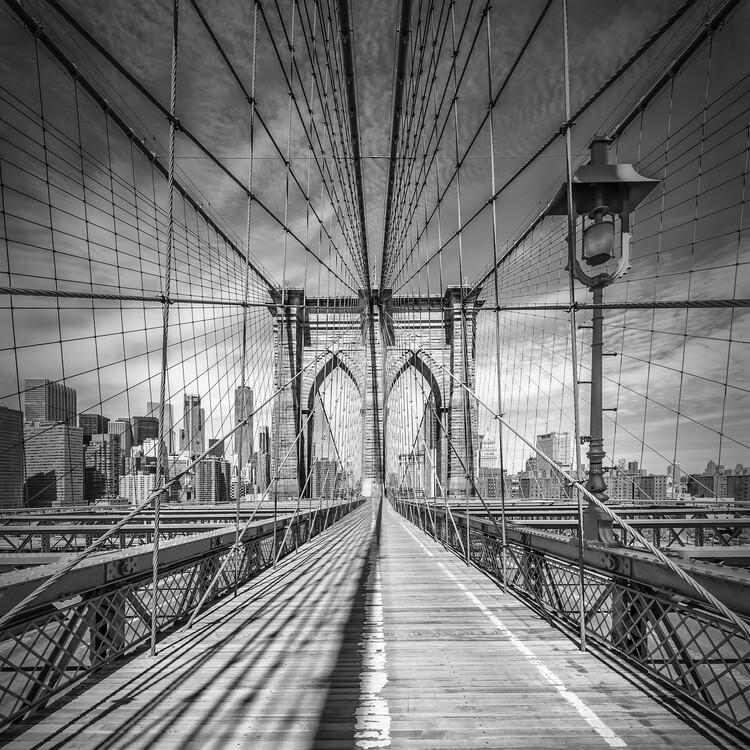 Eksklusiiviset taidevalokuvat NEW YORK CITY Brooklyn Bridge