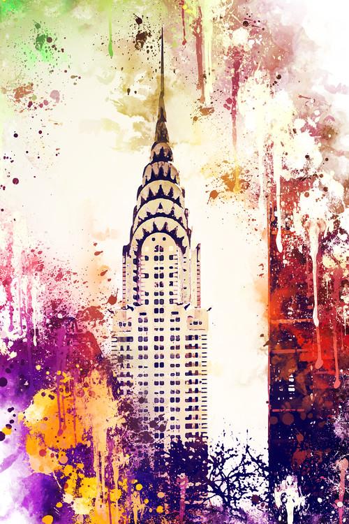 Eksklusiiviset taidevalokuvat NYC Watercolor 155