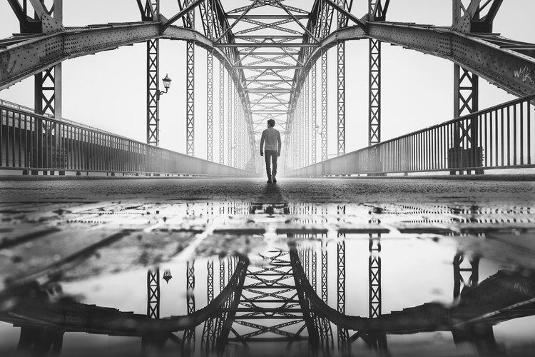 Eksklusiiviset taidevalokuvat old harburg bridge