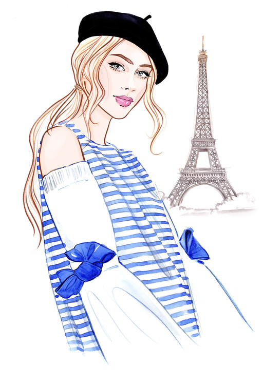 Eksklusiiviset taidevalokuvat Paris mon amour! - 1