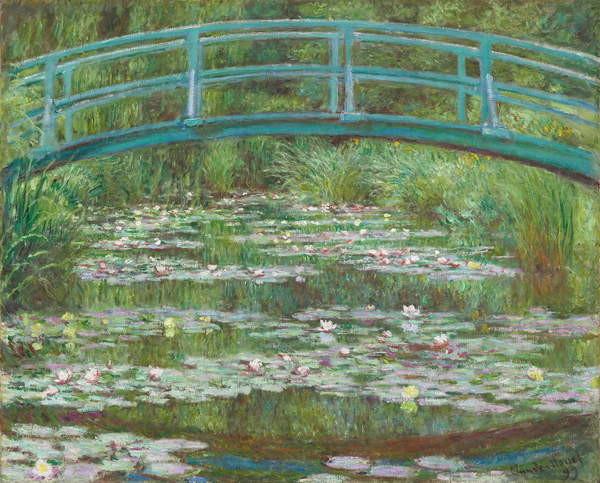 The Japanese Footbridge, 1899 Taidejuliste