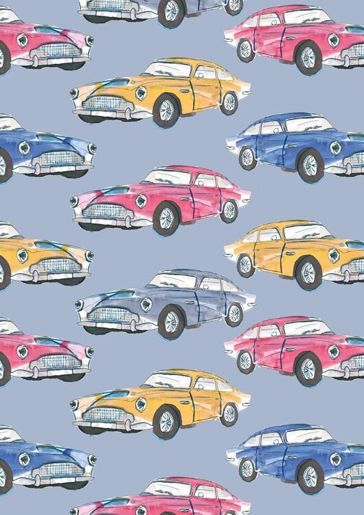 Eksklusiiviset taidevalokuvat Vintage cars