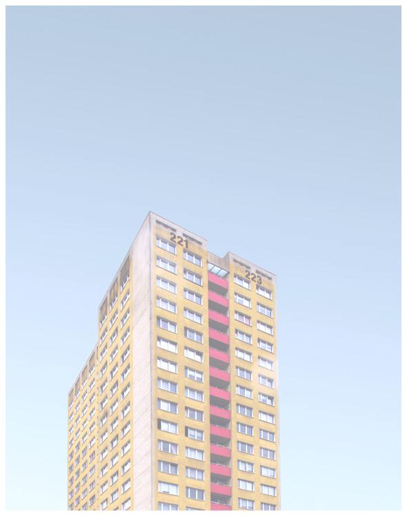 Eksklusiiviset taidevalokuvat yellow building