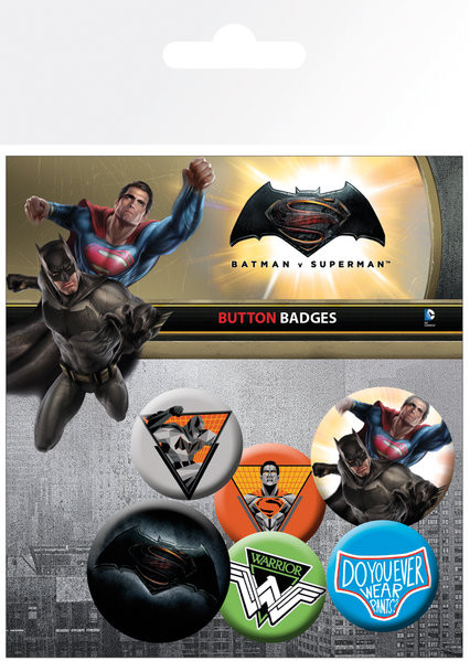 Batman Vs Superman - Mix - Emblemas
