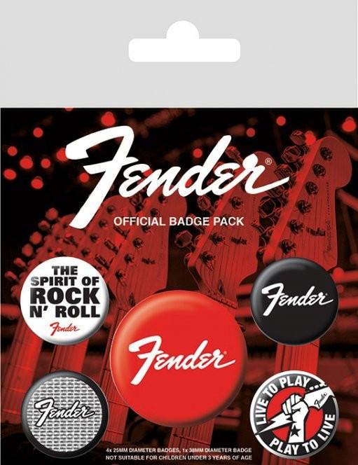 Fender - Emblemas