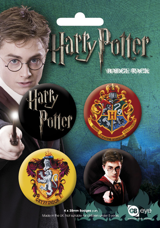 HARRY POTTER GB - Emblemas