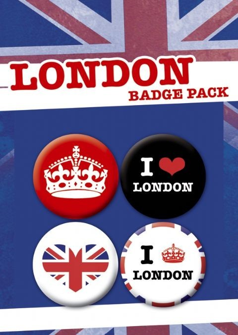 LONDON PACK 1 - Emblemas