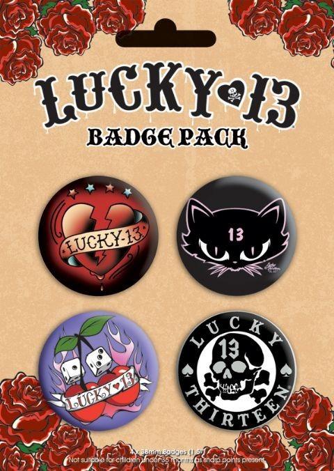 LUCKY 13 - Emblemas
