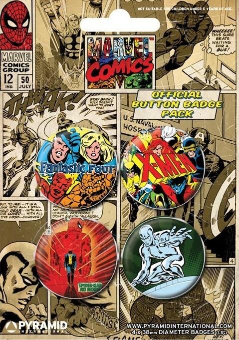 MARVEL COMICS 1 - Emblemas