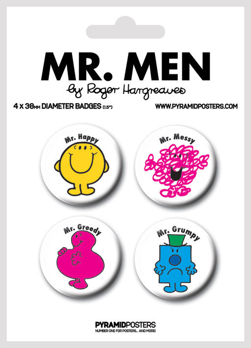 MR MEN - Emblemas