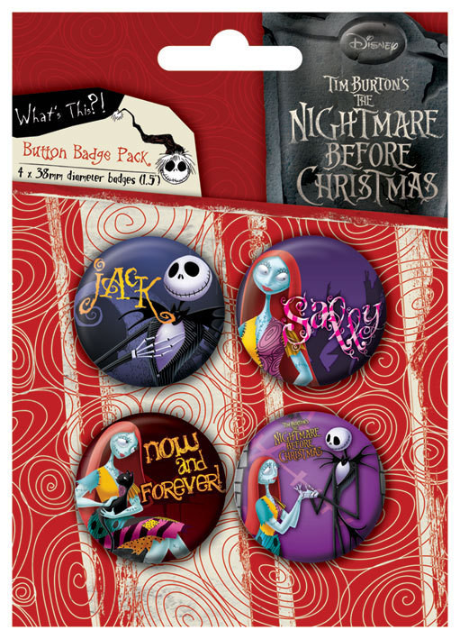 NIGHTMARE - Jack and Sally - Emblemas