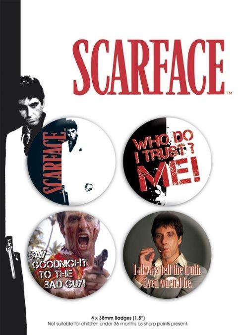 SCARFACE - pack 1 - Emblemas