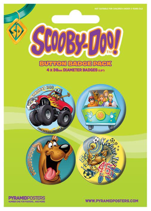 SCOOBY DOO - Boy - Emblemas