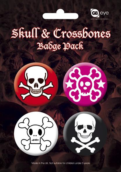 SKULL AND CROSSBONES - 2 - Emblemas