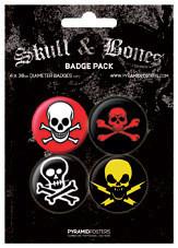 SKULL AND CROSSBONES - Emblemas