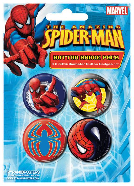 SPIDER-MAN - wall crawler - Emblemas