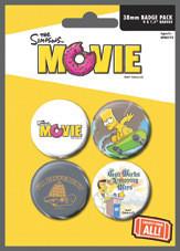 THE SIMPSONS MOVIE - attitude - Emblemas